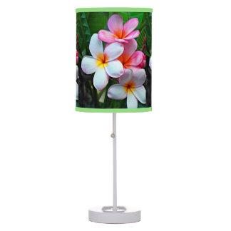 Hawaiian island Tropical Flowers table lamp