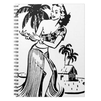 Hawaiian Islands and Hula Notebook