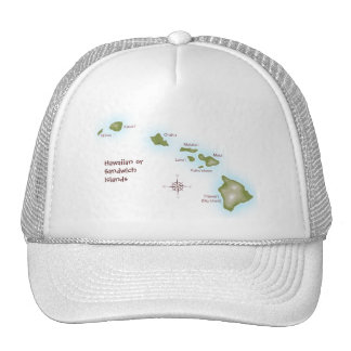 Hawaiian Islands Trucker Hat