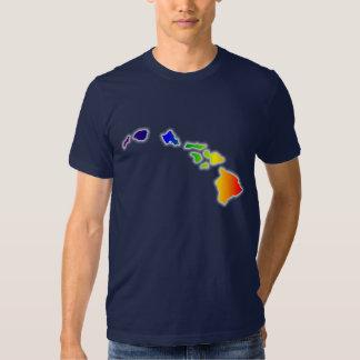 Hawaiian Islands - Hawaii Shirt