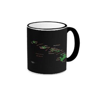 Hawaiian Islands Mug Ringer Mug