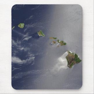 Hawaiian Islands Satellite View Mouse Pad