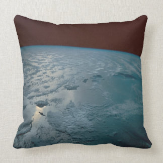Hawaiian Islands Taken from the Space Shuttle Pillow
