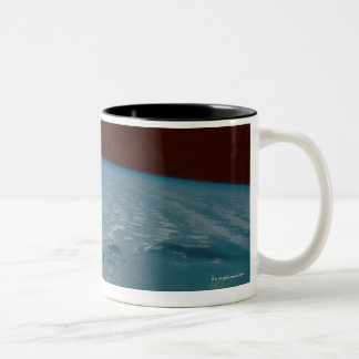 Hawaiian Islands Taken from the Space Shuttle Two-Tone Coffee Mug