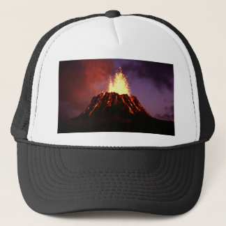 Hawaiian Islands Volcano Trucker Hat