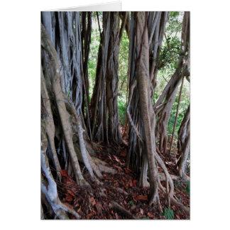 Hawaiian Jungle Greeting Card