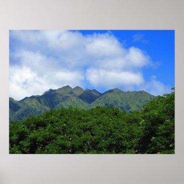 Hawaiian Themed Hawaiian Jungle Poster