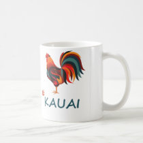 Hawaiian Kauai Wild Rooster Coffee Mug