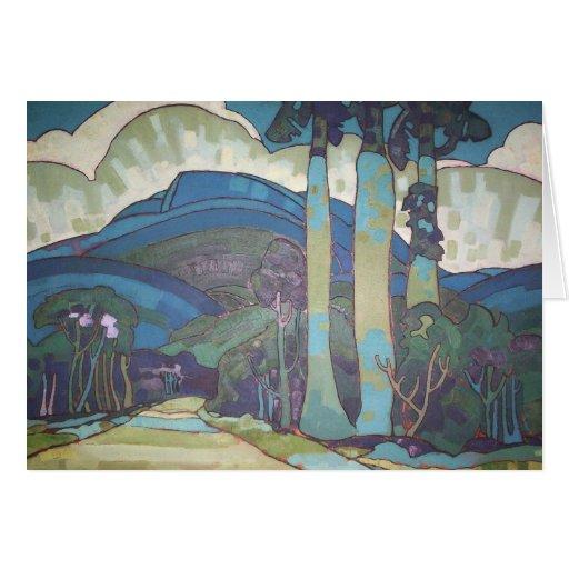 'Hawaiian Landscape' - Arman Manookian Card