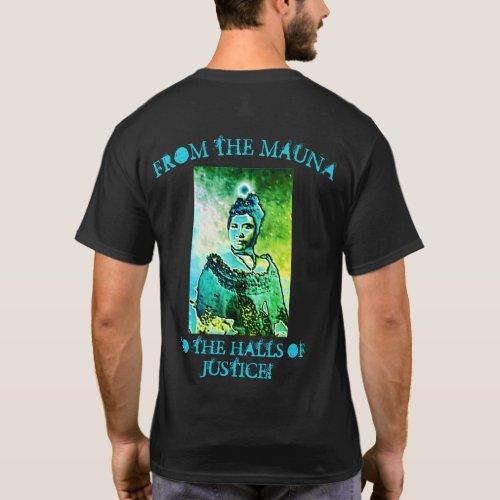 Hawaiian Law Foundation Mens Dark T_Shirt