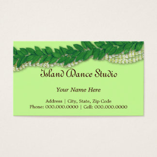 hawaiian lei1 business card