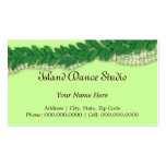 hawaiian lei1 business cards