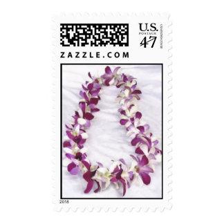 Hawaiian Lei Postage Stamp