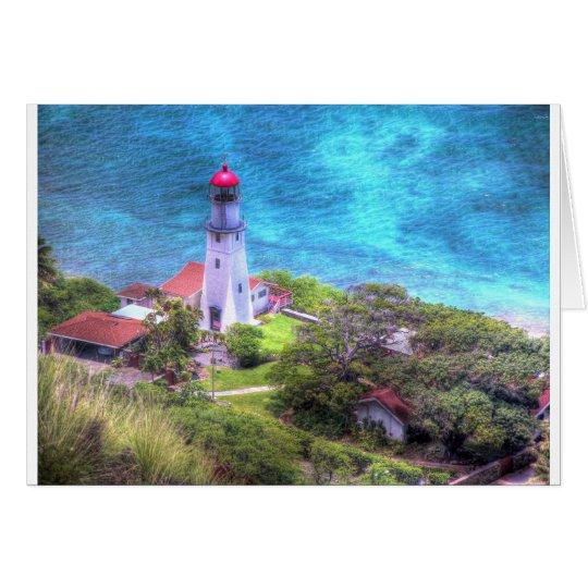 Hawaiian Lighthouse Card