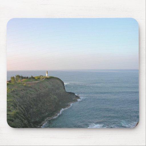Hawaiian Lighthouse Mouse Pad