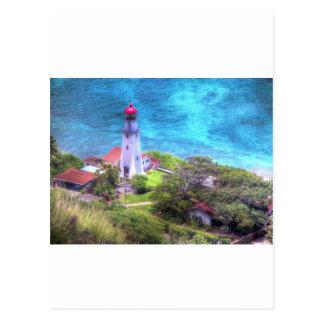 Hawaiian Lighthouse Postcard