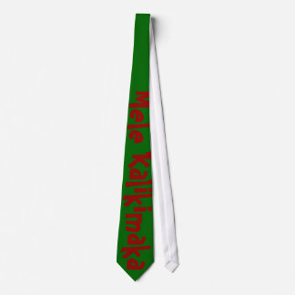 Hawaiian Merry Christmas Neck Tie