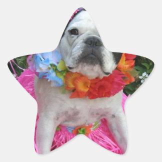 Hawaiian Midge Star Sticker