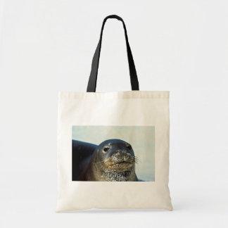 Hawaiian Monk Seal Canvas Bag