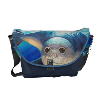 Hawaiian Monk Seal Messenger Bag