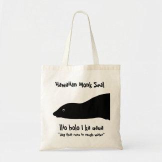 Hawaiian Monk Seal Reusable Bag and Tote