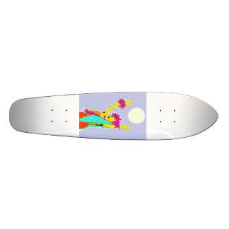 Hawaiian Moonlight Hula Ride Skateboard