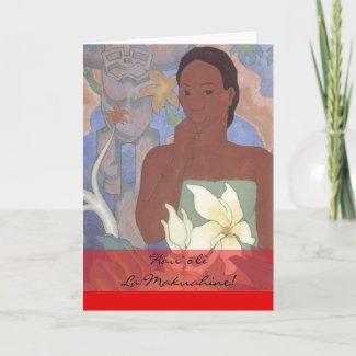 Hawaiian Mother's Day Card card