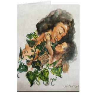 Hawaiian Mothers Day Card