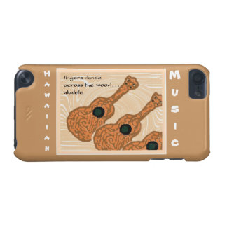 Hawaiian Music Ukulele Haiku Art iPod Touch Case