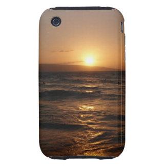 Hawaiian Ocean Sunset on Maui iPhone Case 3G/3GS iPhone 3 Tough Case
