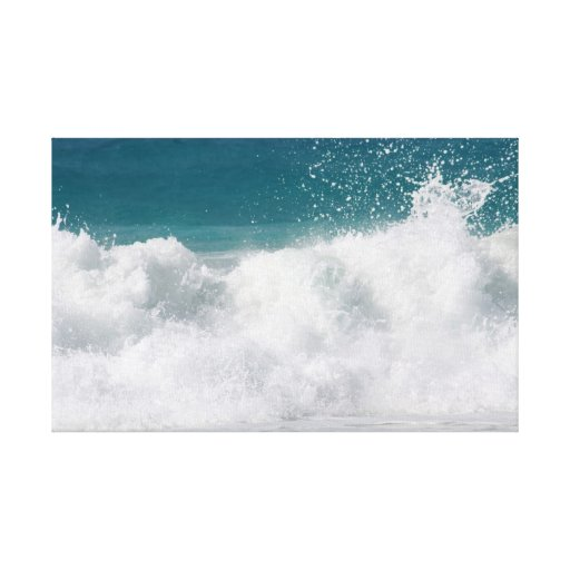 Hawaiian Ocean Wrapped Canvas Stretched Canvas Prints