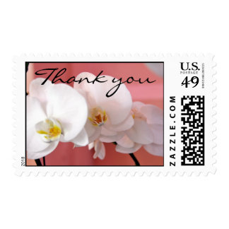 Hawaiian Orchid Thank You Postage