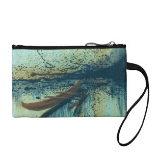 Hawaiian Outrigger in Storm Change Purse