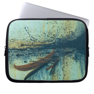 Hawaiian Outrigger in Storm Computer Sleeve