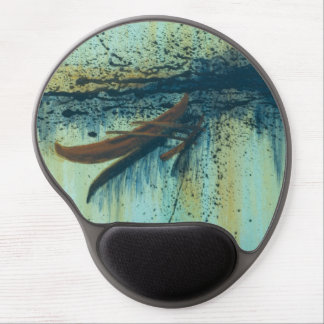 Hawaiian Outrigger in Storm Gel Mouse Pad