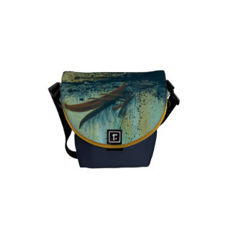 Hawaiian Outrigger in Storm Messenger Bags