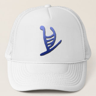 Hawaiian Outrigger Petroglyph Hat