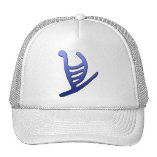 Hawaiian Outrigger Petroglyph Hat