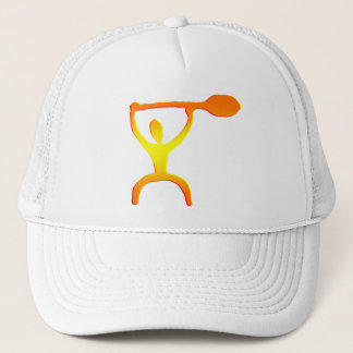 Hawaiian Paddle Man Petroglyph - Hat