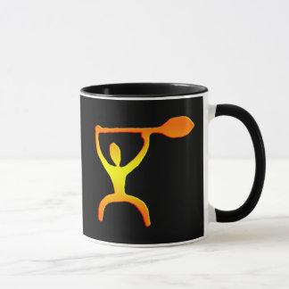 Hawaiian Paddle Man Petroglyph - Mug