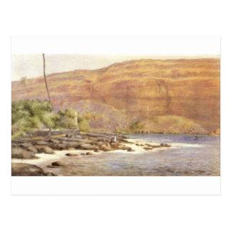 Hawaiian Painting circa 1887 Post Card