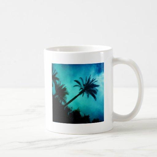 Hawaiian Palm Trees Coffee Mug