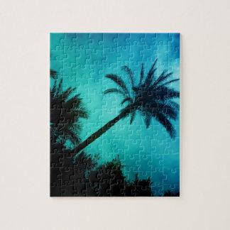 Hawaiian Palm Trees Jigsaw Puzzle