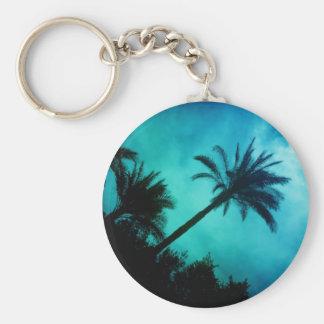 Hawaiian Palm Trees Keychain