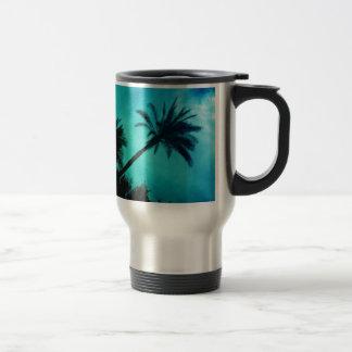 Hawaiian Palm Trees Mugs