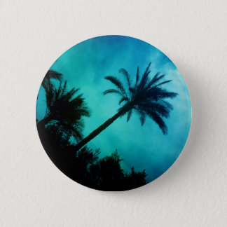 Hawaiian Palm Trees Pinback Button