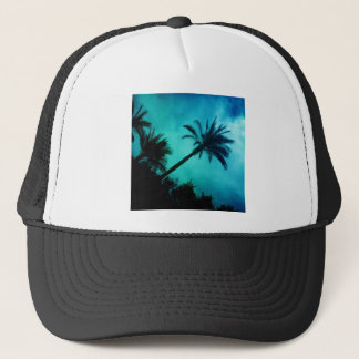 Hawaiian Palm Trees Trucker Hat
