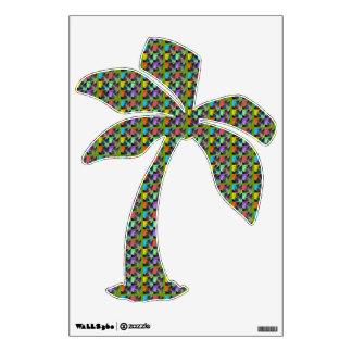 Hawaiian Palm Trees Room Decal