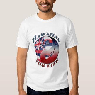 Hawaiian para la vida - modificada para requisitos playeras