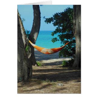 Hawaiian Paradise Card